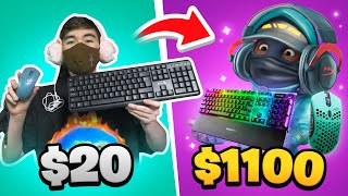 $20 VS $1100 Setup (PAY TO WIN)