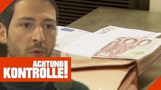 Über 100.000€ Bargeld im Zoll: Woher stammt das Geld? | Achtung Kontrolle | kabel eins