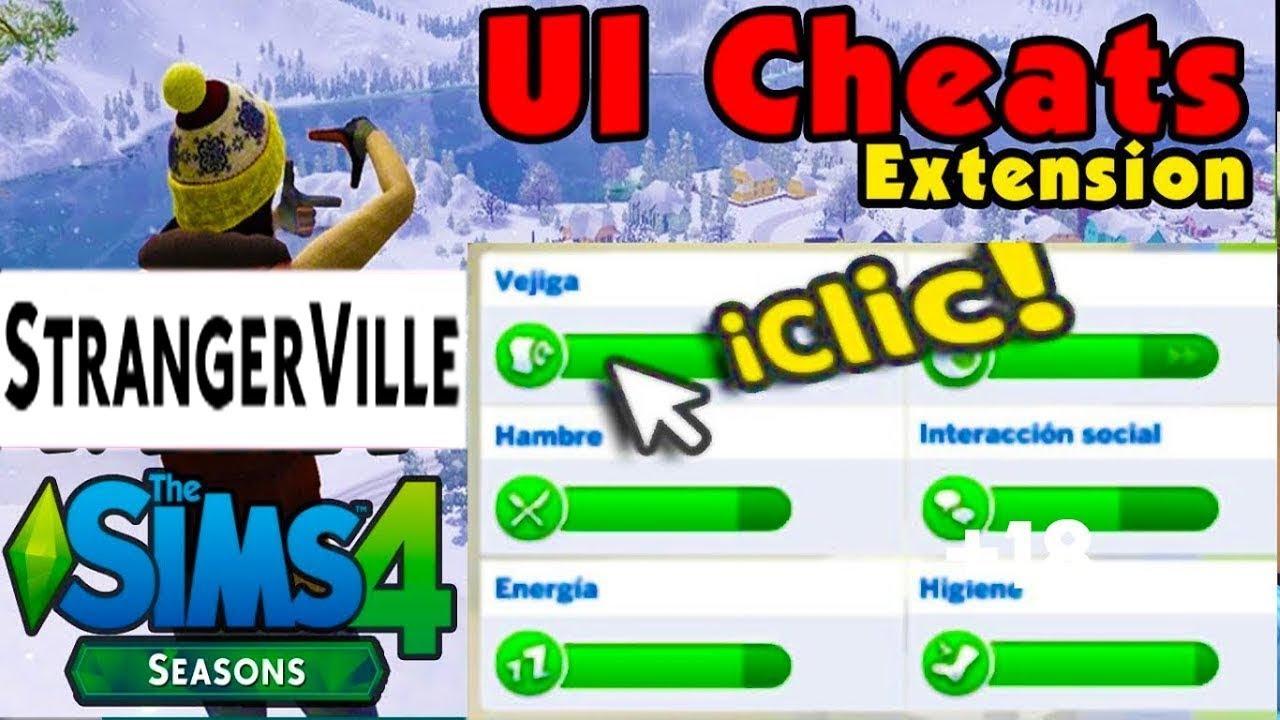 Subir Habilidades Y Necesidades Ui Cheats Extension 14749 I Sims