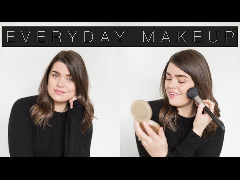The Everyday 'No Makeup' Makeup Routine | The Anna Edit