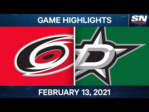 NHL Game Highlights | Hurricanes vs. Stars – Feb. 13, 2021