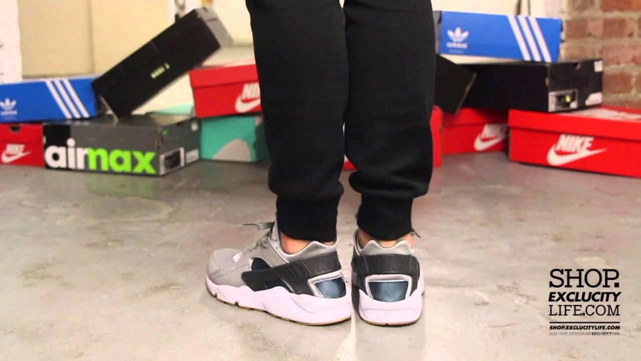 77ae23777837 Nike Huarache Run - Shark - Gum On-feet Video at Exclucity - YouTube