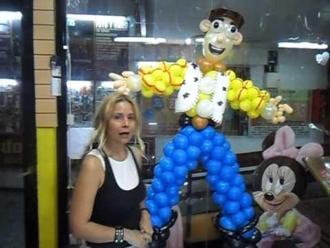 Escultura De Toy Story Realizada Por La Profesora Graciela Noemi Sanabria Para 707 Eventos 3