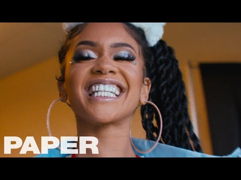 Saweetie Shows Us Her Type at Rolling Loud in Oakland | Show/Off | PAPER