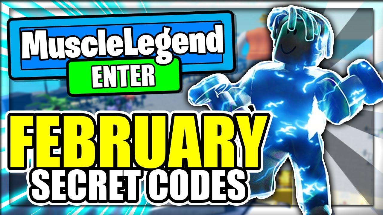 Download (FEBRURAY 2021) ALL *NEW* SECRET OP CODES! Muscle Legends Roblox
