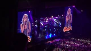 carrie underwood wasted cma fest 2016