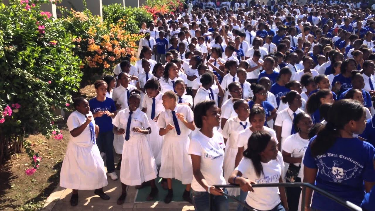 Immaculate Conception High Spirit Day 2014 - YouTube