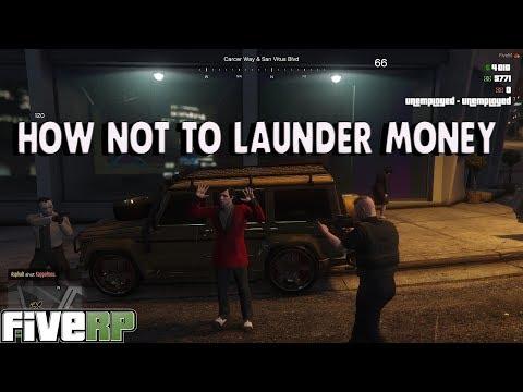 HOW TO NOT LAUNDER MONEY - GTA V RP