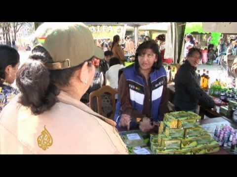 Bolivia pushes to commercialise coca