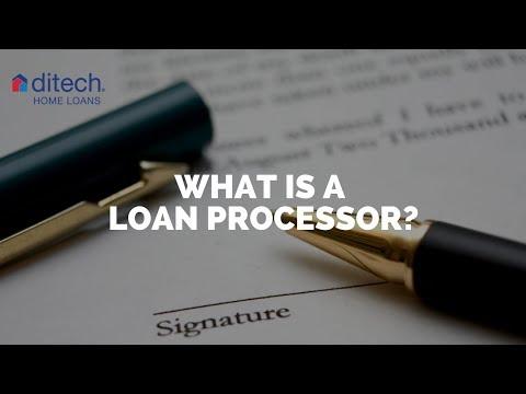 What is a Loan Processor?