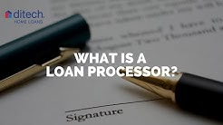What is a Loan Processor?