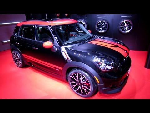 2013 Mini John Cooper Works Countryman All4 - Walkaround - 2013 Detroit Auto Show
