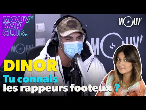 Youtube: DINOR, tu connais les rappeurs footeux?