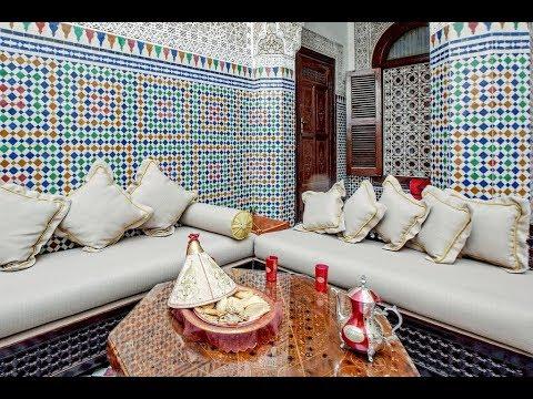 salon marocain moderne 2019