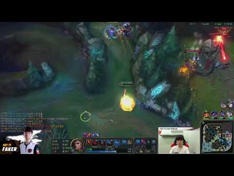 Is Swain's E a target skill? A clean skill combo by Faker! (