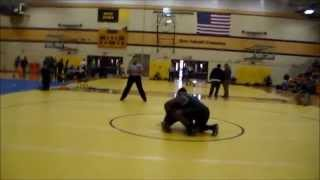 Darian Holmes Henry Ford College round 2 match