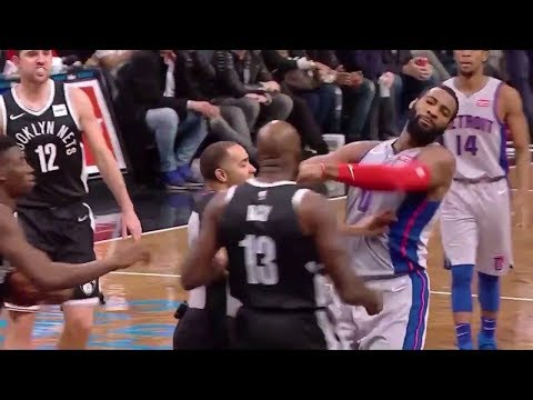 Quincy Acy & Andre Drummond Ejected After HEATED Scuffle (VIDEO)