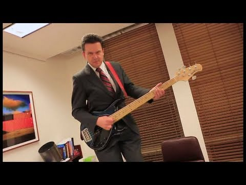 Pollies rock out in music video