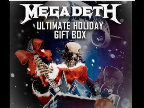 Megadeth's Ultimate Holiday Gift Box now out w/ classic accessories