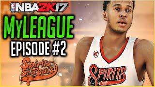 NBA 2K17 ST. LOUIS SPIRITS MYLEAGUE | LONZO BALL DROPS + TRADES | Episode 2