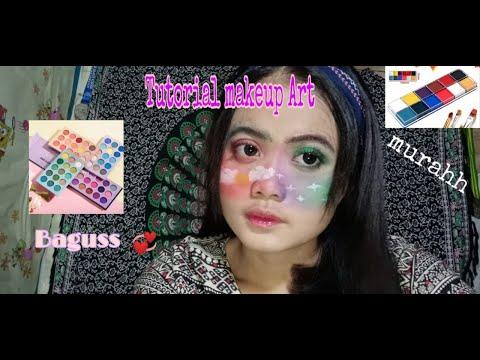 Tutorial makeup Art . Tips face painting pemula