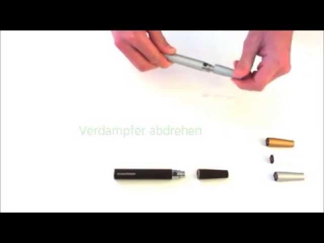 Anleitung zur Bedienung - eGoT - Die elektrische Zigarette mit extra Dampfleistung.