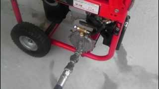 Gasoline Generator Conversion to Natural Gas