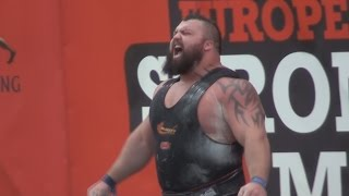 Europe's Strongest Man 2014 - Controversy - World deadlift record attempt - Eddie Hall