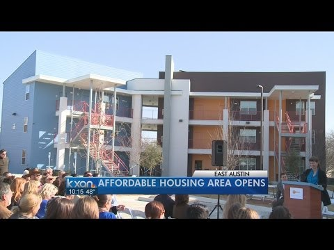 Affordable housing complex debuts in East Austin