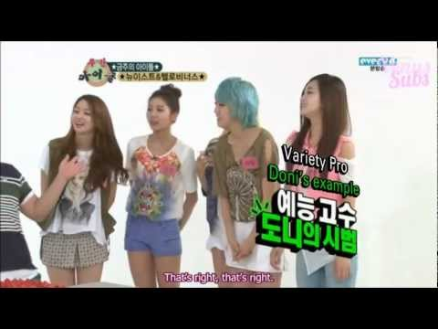 [VENUSSUBS] 120801 Weekly Idol