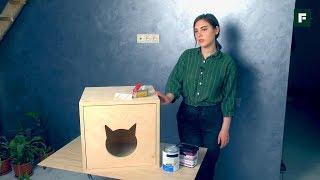 Мебель для животных: делаем шкаф для лотка. Строительные лайфхаки // FORUMHOUSE