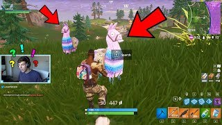 LUCKIEST FORTNITE ROUND IVE EVER PLAYED..*2 LLAMAS* | Fortnite…