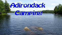 Unknown ADK Campground - Beaver River Canoe Route