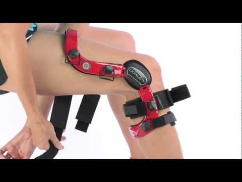 72fec7d679 DonJoy Defiance Custom Knee Brace - YouTube