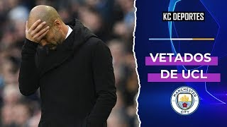 MANCHESTER CITY SUSPENDIDO DOS AOS SIN CHAMPIONS LEAGUE