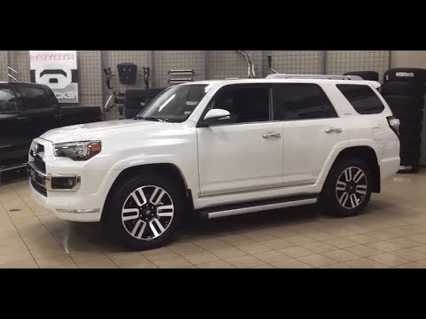 2018 Toyota 4runner Limited Review