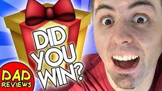 November 2018 Giveaway Winner - Did YOU Win?