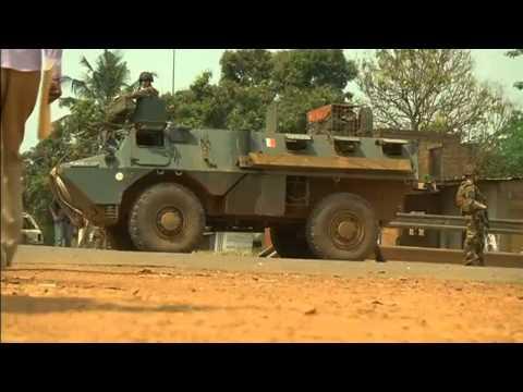 Troupes françaises combats en République centrafricaine
