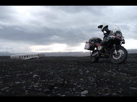 Život na motorkách - Island 2015