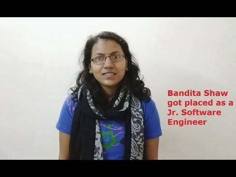 Bandita Shaw placed as Jr. Software Engineer | Trainees Review | Nucot Recent Placement details