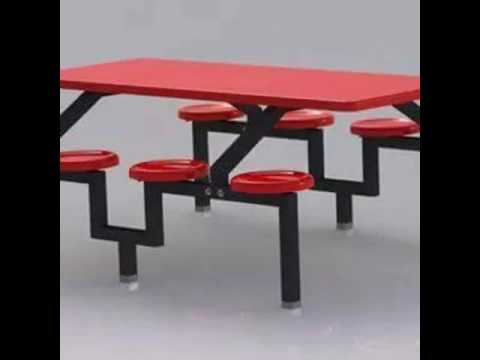 Fiber reinforced plastic (F.R.P) Canteen table (made by real fibre glass ind:)