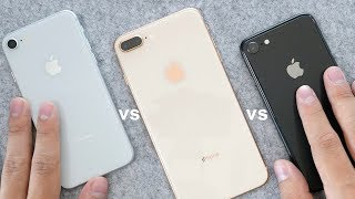 iPhone 8: Silver or Gold or Black? In-Depth Color Comparison!