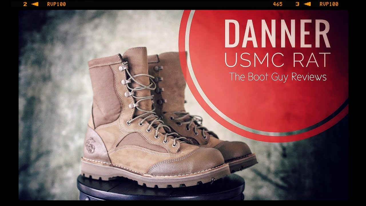 DANNER USMC RAT [ The Boot Guy Reviews ]