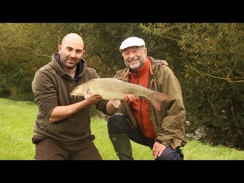 Fishing For Barbel On The River Wye With Bob James