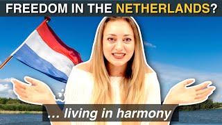 Voel je je VRIJ in NEDERLAND?  (vraag aan buitenlanders)