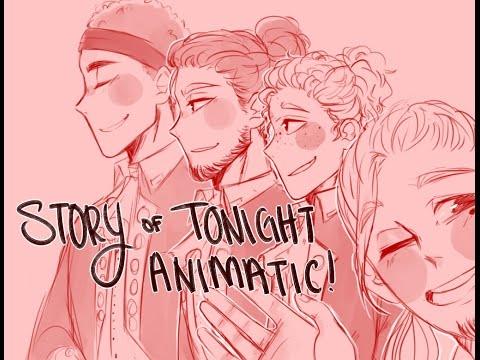 //STORY OF TONIGHT ANIMATIC// HAMILTON
