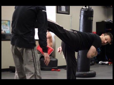 Back Kick - Krav Maga Technique - Self Defense w/ AJ Draven of KMW - Ep. 28