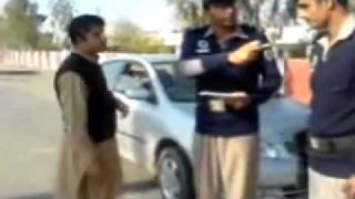 A Rude Violator VS Pakistan Motorway Police