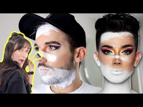 TURNING MYSELF INTO JAMES CHARLES!! thumbnail