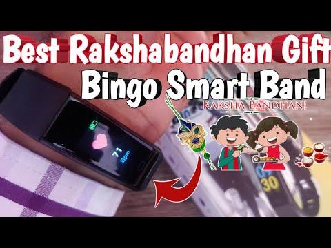 Best Rakshabandhan Gift : Bingo F0S Smart Fitness Band/Tracker Unboxing And Full Review
